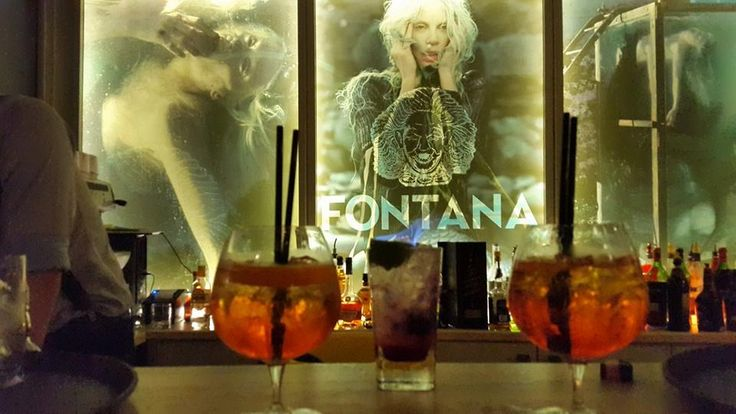 Bar Fontana (Shkoder) . Projektuar dhe realizuar nga Imagine Interior Design.