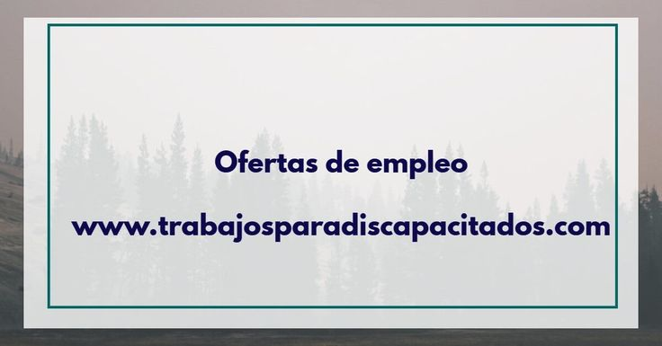 Ofertas de empleo Madrid discapacidad - Publicamos gratis ofertas de empleo - Marketing Digital y Community Manager. Solicite Presupuesto Gratuito.