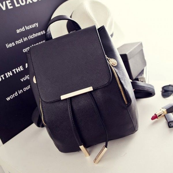 Cool! Sweet Funky Lady Solid Simple Square PU Drawstring Hasp Satchel Leisure Backpacks just $37.99 from Atwish.com! I can't wait to get it!