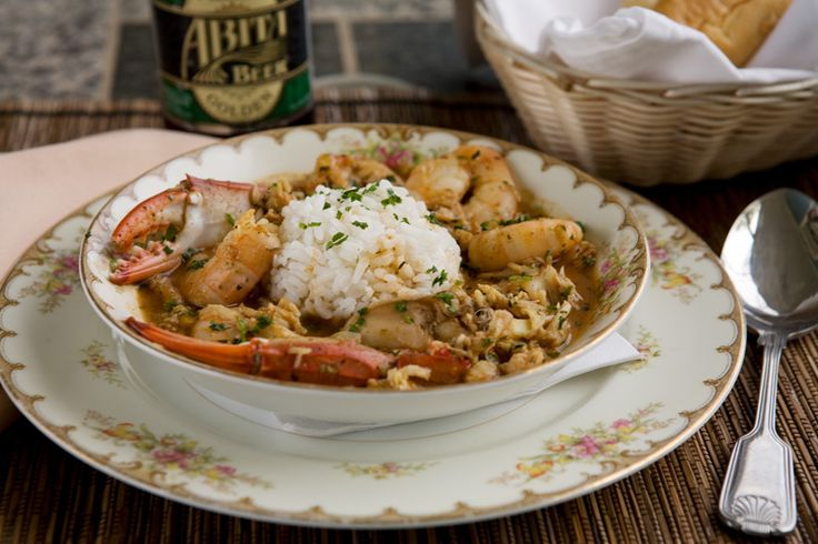 CLASSIC CAJUN GUMBO made with chicken and andouille
