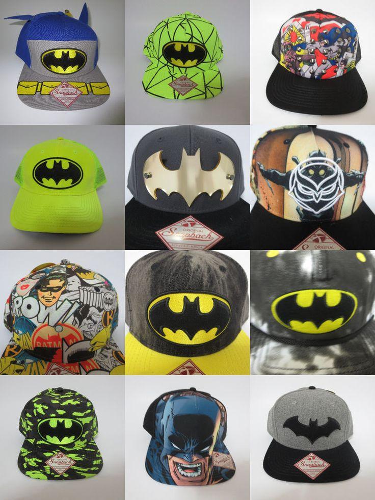 BATMAN LOGO Hat Cap Snapback Baseball DC COMICS COSTUME COSPLAY GOTHAM JOKER Hat #BATMAN #BaseballCap