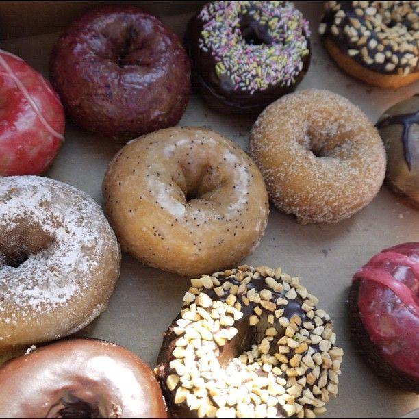 Mighty O doughnuts in Seattle