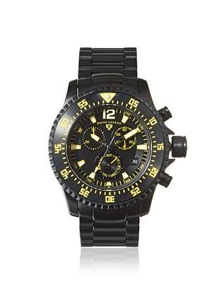 78% OFF Swiss Legend Men's 10063-BB-11-YA Sergeant Black Stainless Steel Watch