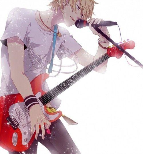 Výsledek obrázku pro anime boy as sing