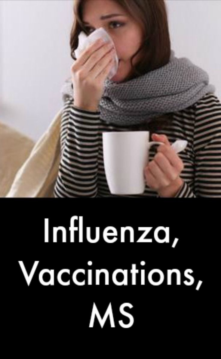 Influenza, Vaccinations, MS #MultipleSclerosisNewsToday