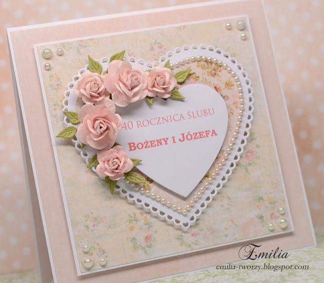 Kartka rocznicowa/Wedding anniversary card