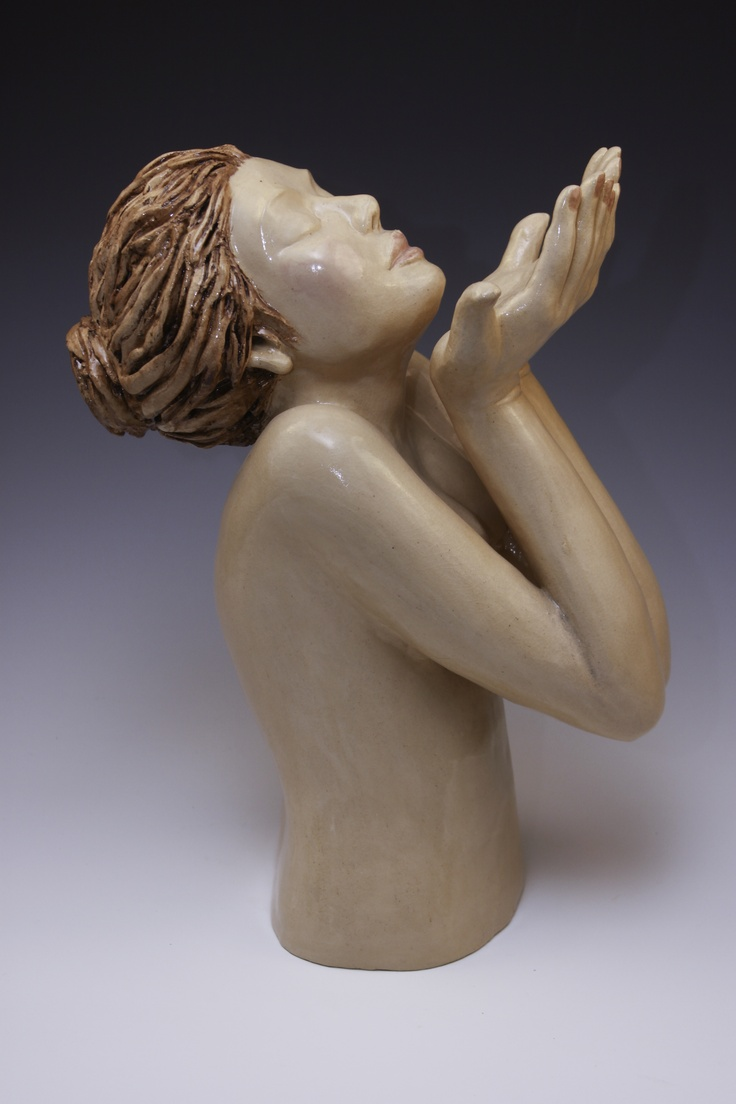 10 Best images about ceramic sculpture on Pinterest | Moon face ...