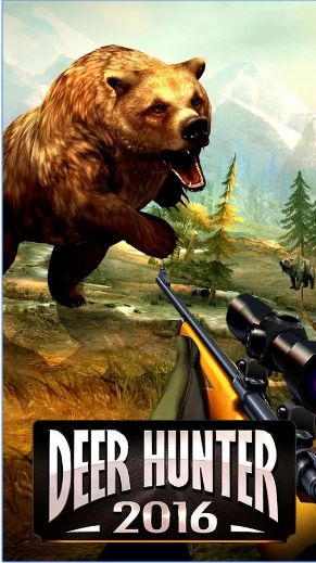Game DEER HUNTER 2016 Mod Apk Unlimited Ammo