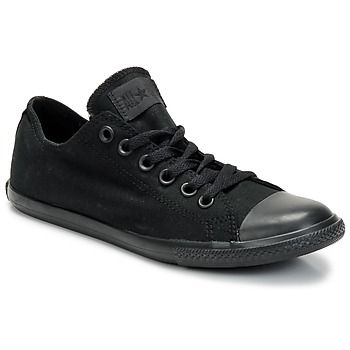 All Star Slim OX All Black