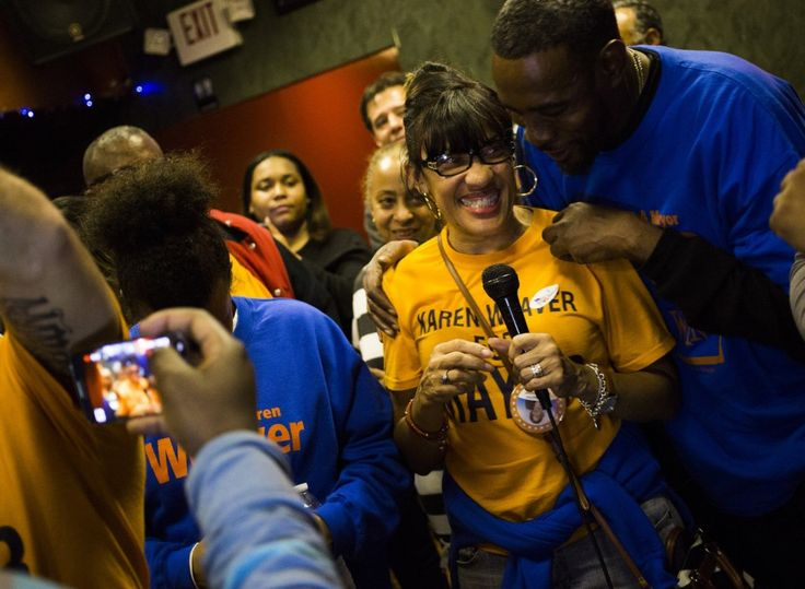 Karen Weaver makes history, elected Flint's first woman mayor | MLive.com