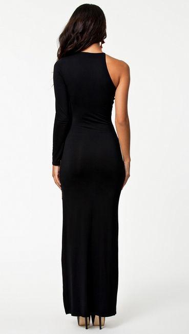 Новая Мода Sexy Vintage Платья Новый Maxi Повседневную одежду Черный Золотой Лоскутное Лодыжки Длина Женщины Длинные Платья Макси купить на AliExpress