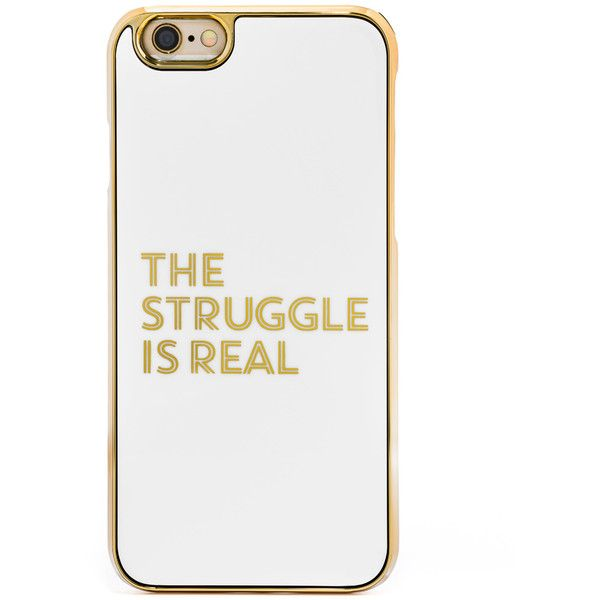 BaubleBar Amanda Struggle Cover Up iPhone 6/6s Case ($30) ❤ liked on Polyvore featuring accessories, tech accessories, phone cases and technology