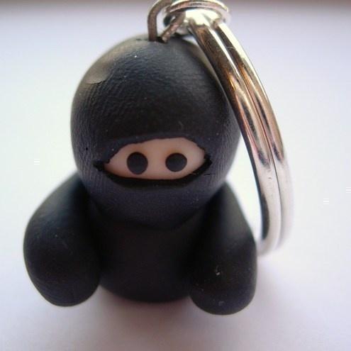 Ninja Key Ring