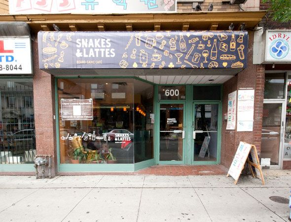 Snakes and Lattes on Bloor