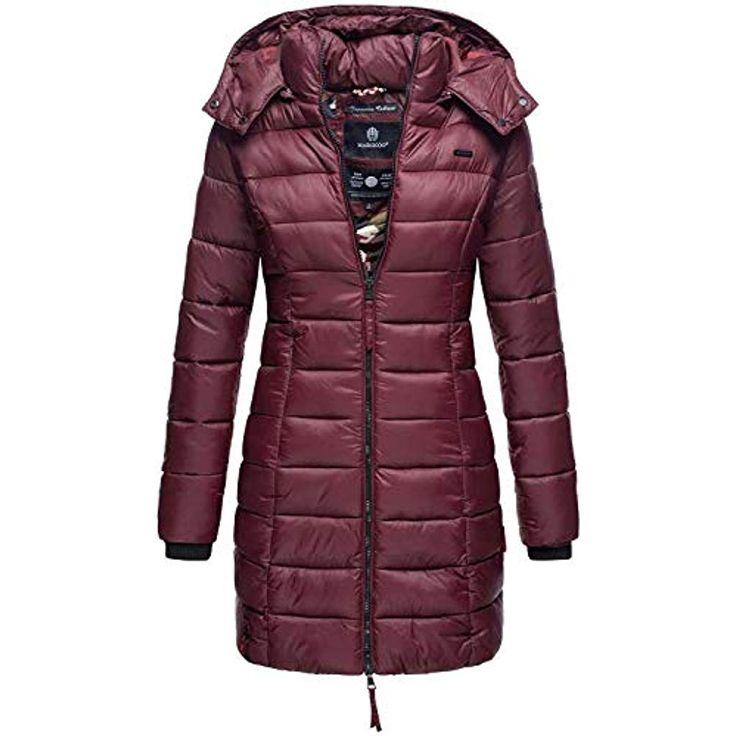 Marikoo Herbst Winter Übergangs Steppmantel Jacke Mantel gesteppt B603 #Bekleid…
