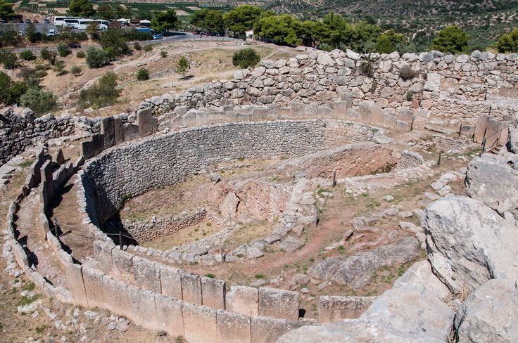Grave Circle at #Mycenae #KeyTours
