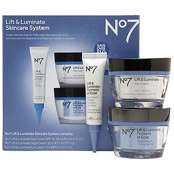 Love that I got 20% off No7 Lift & Luminate Skincare Kit from Boots Retail USA for $51.99.