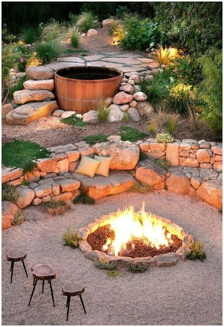 The 25+ Best Fire Pit On A Slope Ideas On Pinterest | Patio Ideas On A  Slope, Fire Pits For Your Garden And Patio Ideas For Flat Yard