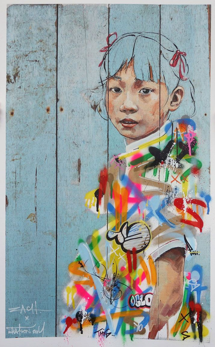 Different Strokes (collaboration with Martin Whatson). Photo courtesy of Ernest … – Ziad Shannak