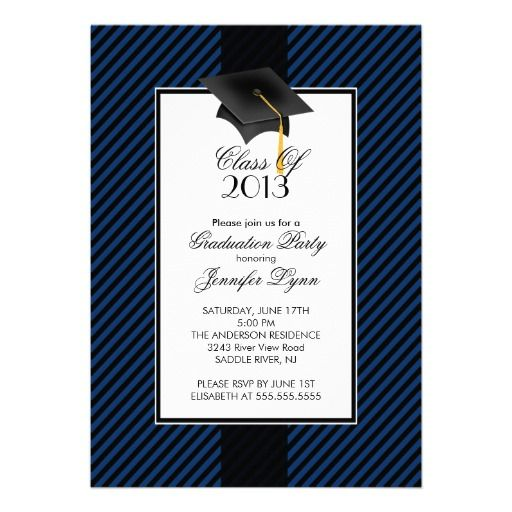 20 best Graduation Party Invitations Templates images on ...