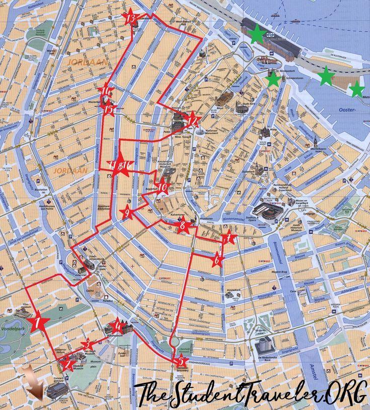 Der ultimative selbstgeführte Rundgang durch Amsterdam The Student Traveller