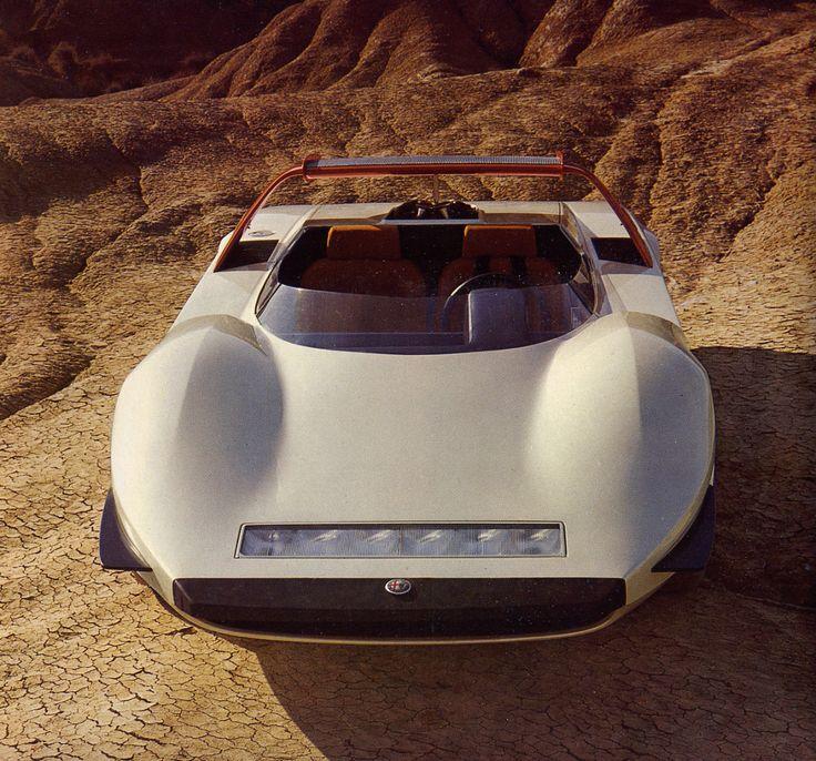 sublime   1968 Alfa Romeo Stradale P33 Pininfarina Roadster
