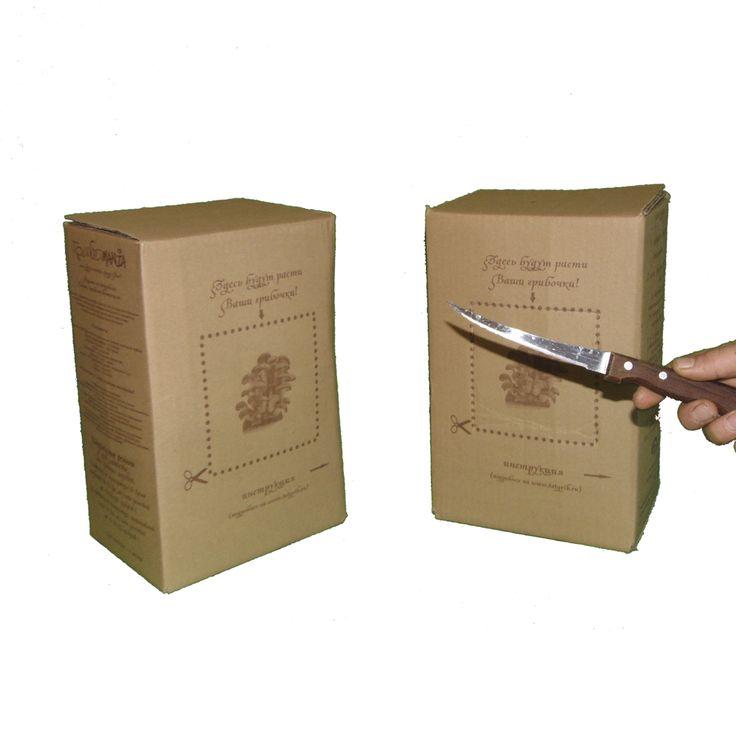 Вы получили грибную коробку от ТатГриб! Купить  1. Смотрим на дату упаковки(если дата упаковки не указана, Вам придет смс с датой окрытия) если прошло более 10 дней от даты упаковки вскрываем