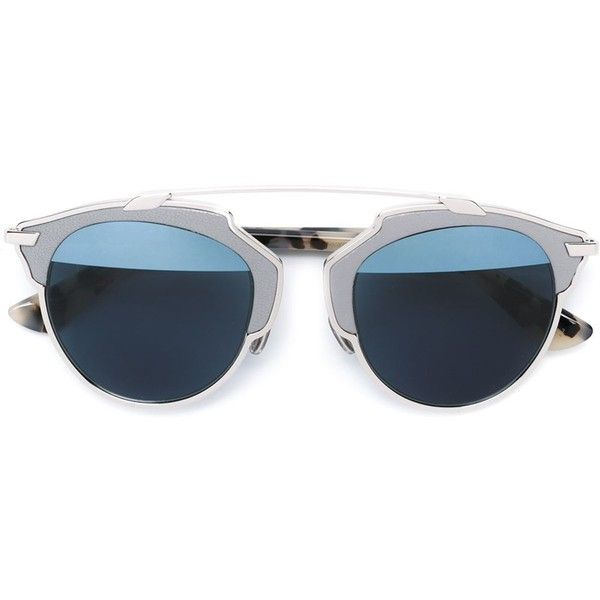 Dior 'So Real' sunglasses ($785) ❤ liked on Polyvore featuring accessories, eyewear, sunglasses, glasses, grey, christian dior, gray sunglasses, grey sunglasses, unisex sunglasses and christian dior sunglasses