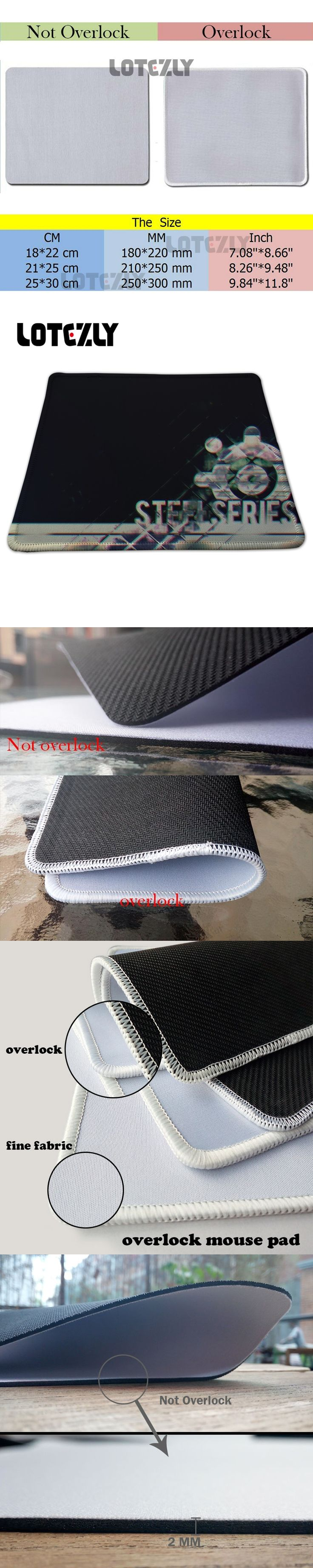 Exclusive Design Steelseries Gaming Mouse Pad Black Rubber Non-slip Gamer Mice Play Mat For PC Computer   Laptop Mousemat