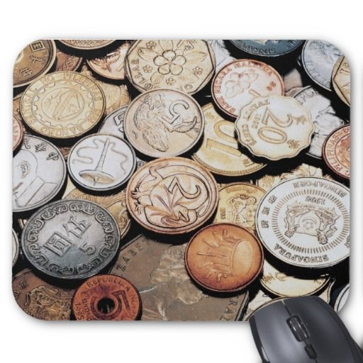 MONEY COIN MOUSEPAD