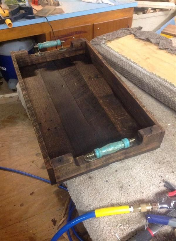 Pallet Wood Serving #Tray