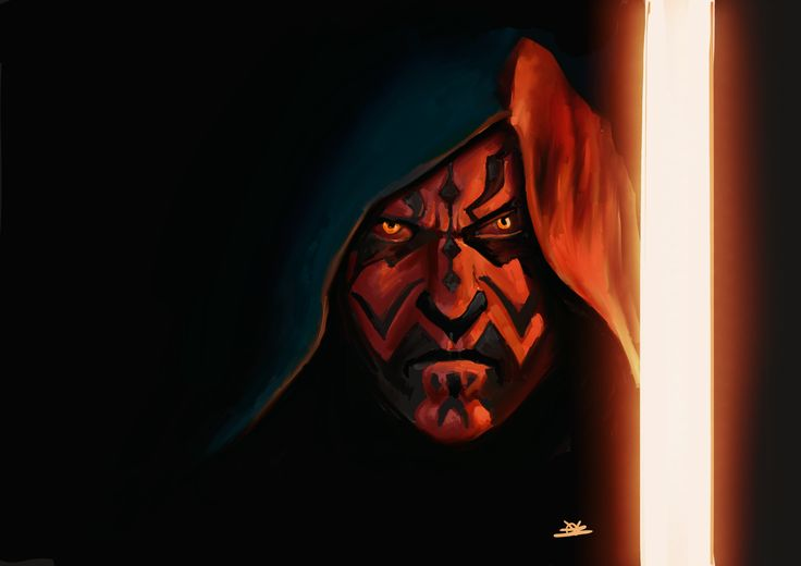 Darth Maul study