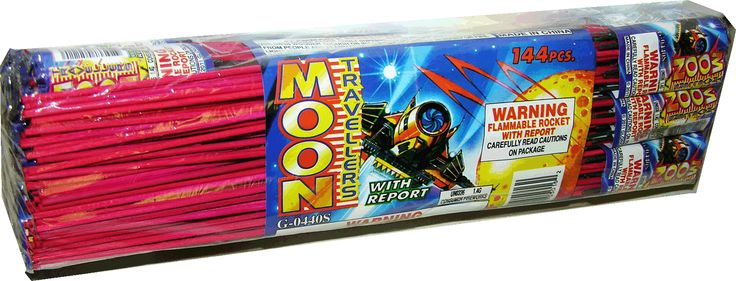 Bottle Rocket w/ Report - North Central Industries - www.greatgrizzly.com - MUNCIE INDIANA WHOLESALE FIREWORKS •Category: Bottle Rockets •Item Number: 225 •Package Contents: 25-12-12 •Dimensions: 3 x 2 x 10 •Weight: 20lbs Brand Name: Glorious