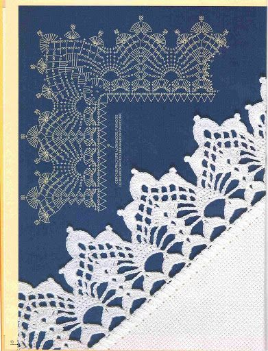 Trabalhos em Crochê - Barrados com Cantos 06 - Elisiane Severo - Picasa Web Albums