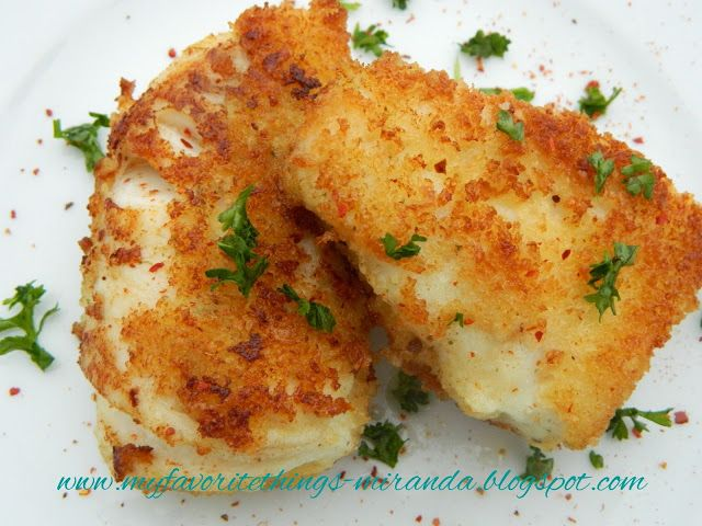 Panko-Crusted Halibut for any day of the week                              …