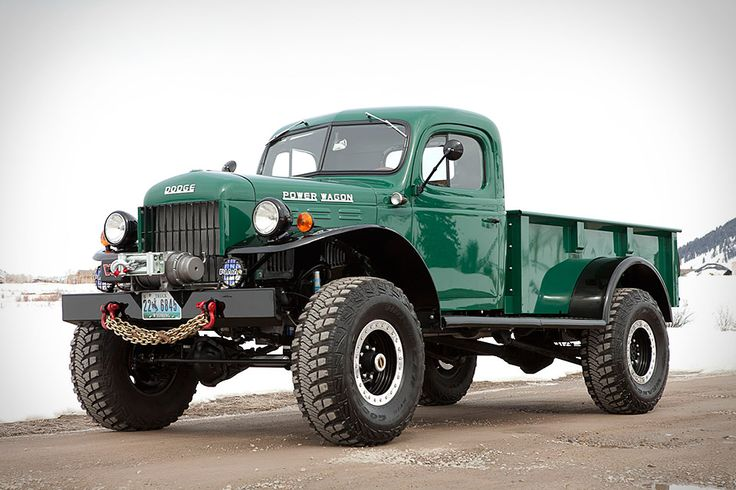 Legacy Power Wagon... also with extended cab and 4 door models