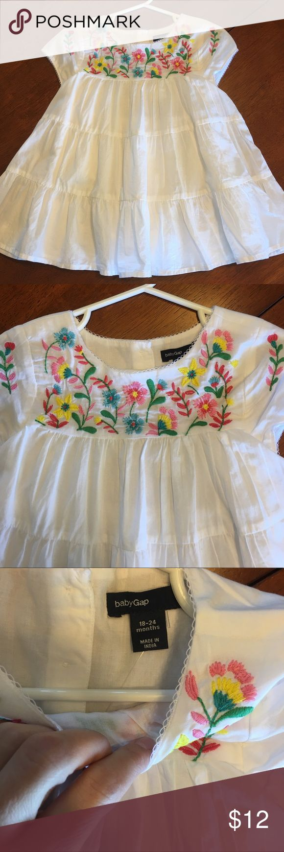 Boho Baby Embroidered Dress nwt! GAP Dresses