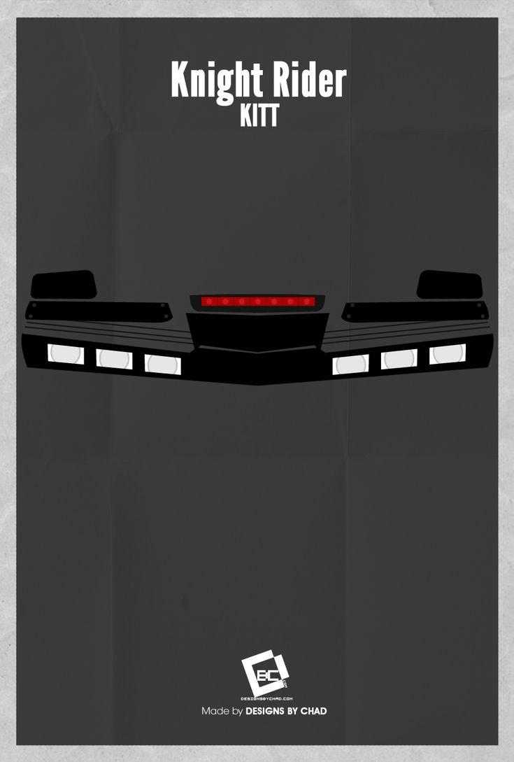 Knight Rider Minimal Poster