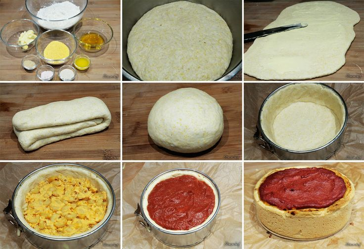 Od deski do deski: Jak zrobić ciasto na pizzę 'Deep Dish'?