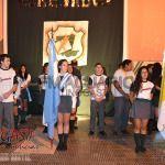 El nivel secundario del Colegio Sor Pierina tuvo su cambio de abanderados y escoltas