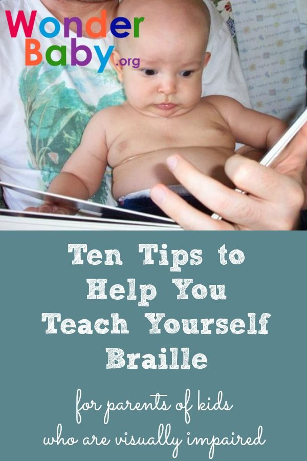 Ten Tips to Help You Teach Yourself Braille