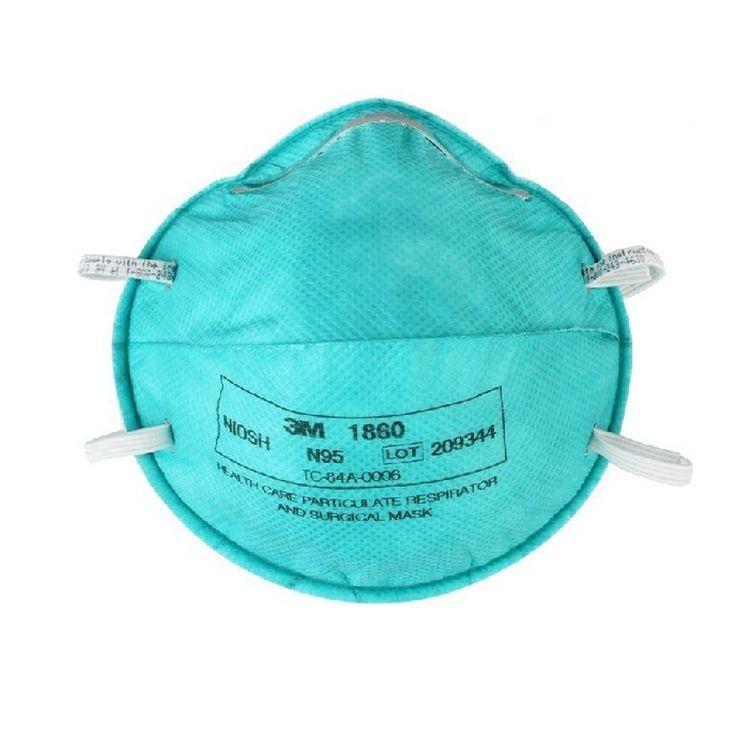 3M Masker Bedah Medis N95 Medical Respirator 1860 - 120 EA/Case.  - NIOSH Disetujui: N95 - FDA dibersihkan untuk digunakan sebagai masker bedah - Membantu melindungi dari partikel-partikel biologis udara tertentu - Tahan cairan dan sekali pakai - Price per 120 each/case.  http://tigaem.com/respirator-masker/2015-3m-masker-bedah-medis-n95-medical-respirator-1860-120-eacase.html  #maskerbedah #maskermedis #3M