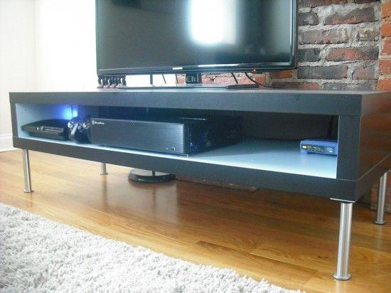 OCD-Friendly Lack TV Hack - IKEA Hackers