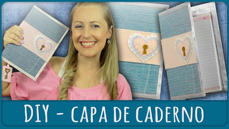 Capa de Caderno =DiY