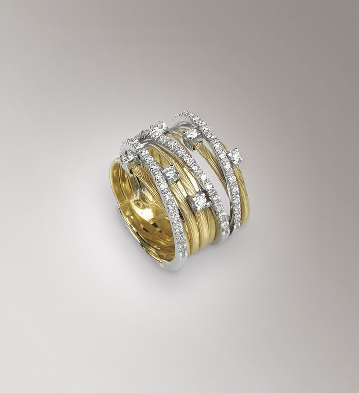 Rings - Yellow gold - diamonds - Marco Bicego AG278 B2