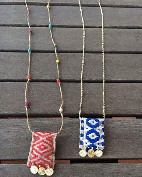 Χειροποίητα φυλαχτά κεντημένα στο χέρι με αγάπη κ ευχές για τύχη κ υγεία Φτιαγμένα με επίχρυσα νομίσματα κ κοραλόπαστα ή επίχρυση αλυσίδα ✔Handmade talisman made with love and wishes for health and good luck (gold plated chain,coins, coral paste) #namaste #luv #handmade #jewelry #fashion #accessories #style #greekdesigner #greekdesigners #blogger #fashionblog #instamood #instafashion #fashionista #jewelrygram #fashiongram #statementpieces #trends #semiprecious #Miyuki #beads #erminakass…