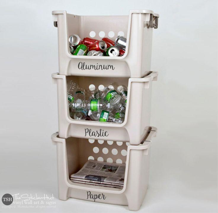 recycle bin ideas garage - Best 25 Recycling bins ideas on Pinterest