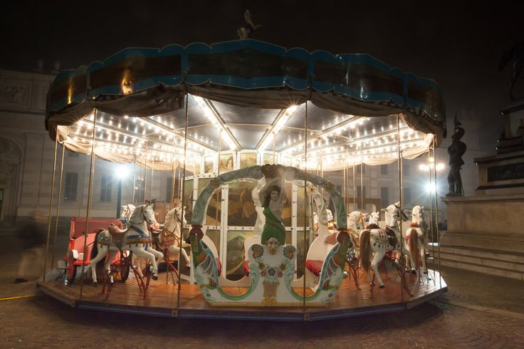 Antique carousel V by vlad-m.deviantart.com on @deviantART