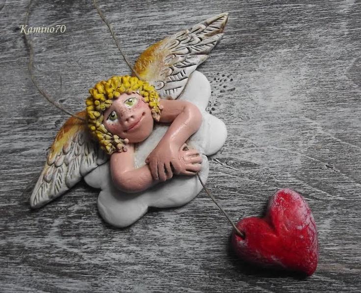 aniołek na chmurce