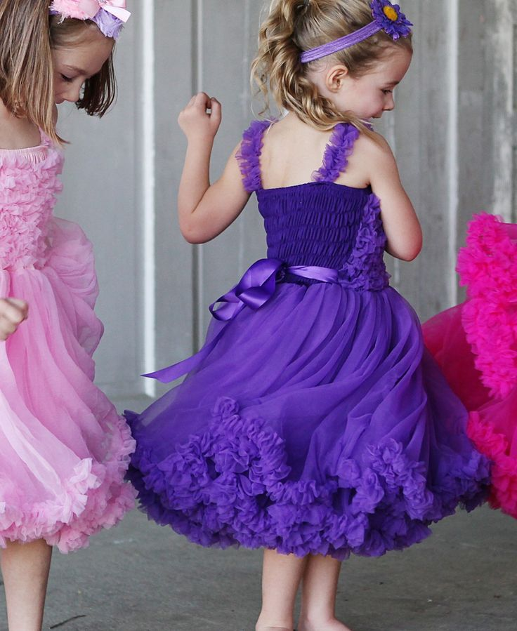 A gorgeous purple dress from rufflebutts that will make for Purple makes you feel